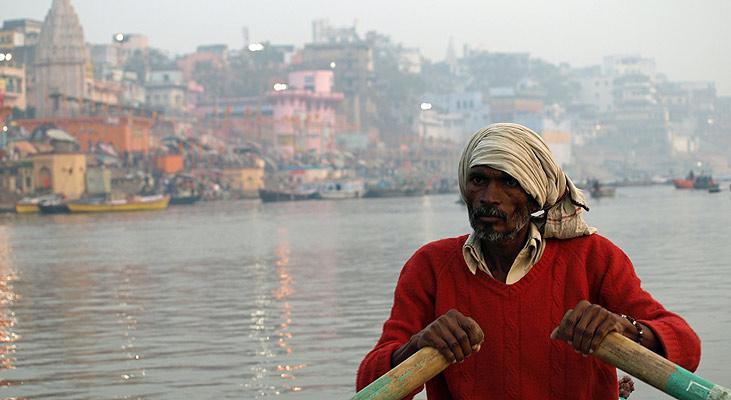 """""""Drager over Ganges"""" af Asger Yding Nielsen"""