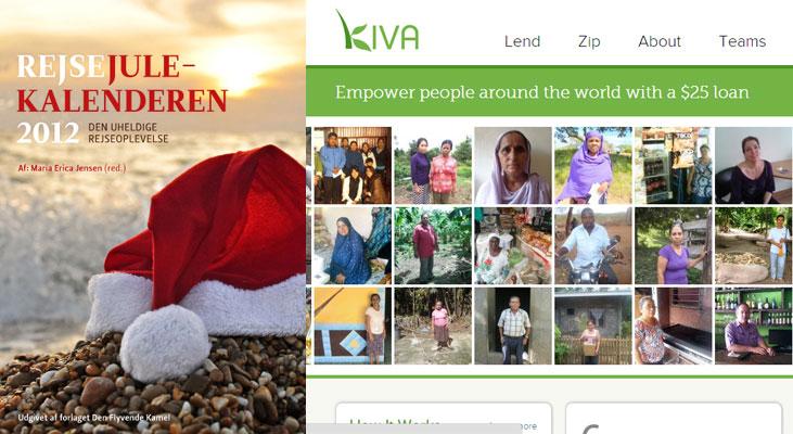 """Køb e-bogen """"Rejsejulekalenderen 2012"""" og støt et godt formål"""