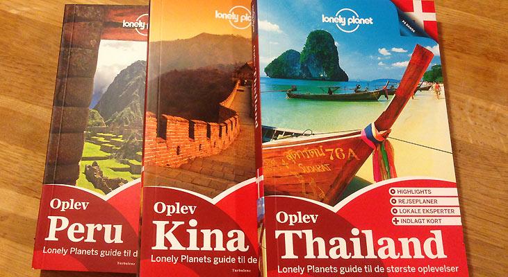 Skriv og vind danske Lonely Planet-guidebøger