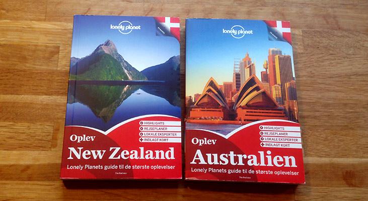 Danske Lonely Planet-guidebøger som præmier på Rejsejulekalenderen 2014