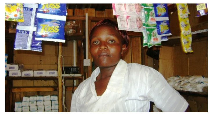 Rejsejulekalenderen hjælper Susan fra Nakuru i Kenya