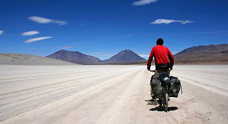 """""""Bolivias vilde sydvest"""" af Tore Grønne"""