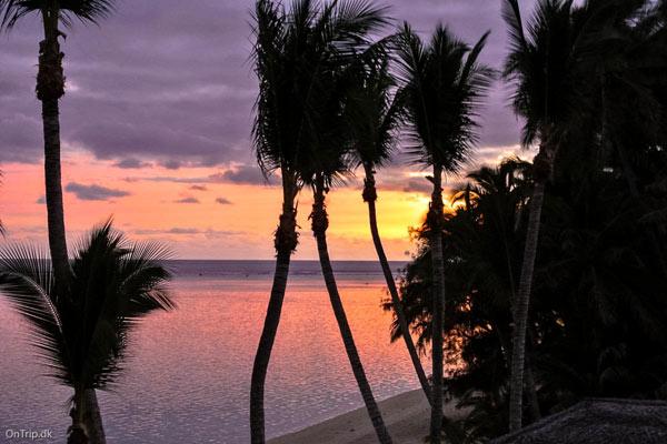 Aften på Cook-øerne