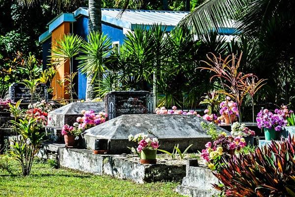 Kirkegård på Cook-øerne
