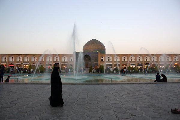 Byen Esfahan i Iran