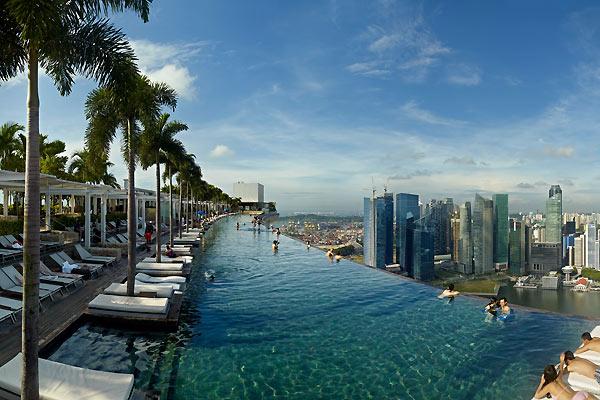 Hotel med vild udsigt i Singapore