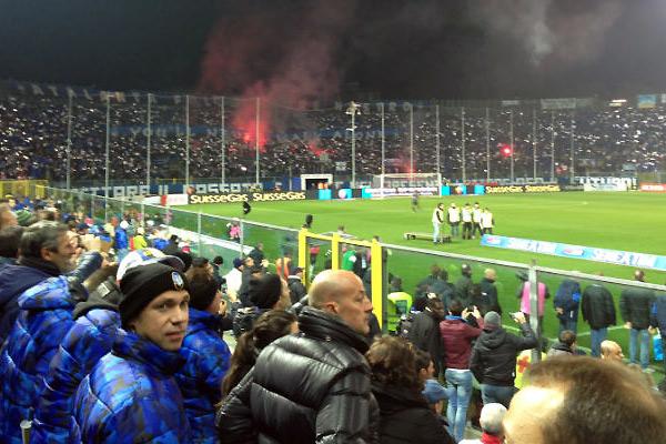 Fodboldkamp i Italien