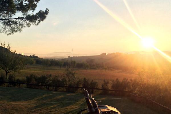 Solskin i Italien