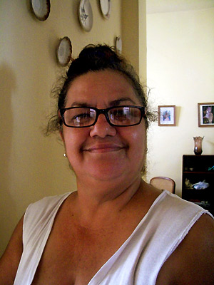 Rosa Maria på Cuba_Om at rejse alene af Tine Haslam