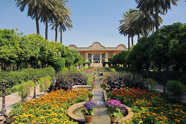 Byen Shiraz i Iran