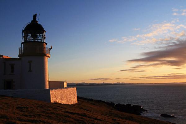 Fyrtårn i Skotland