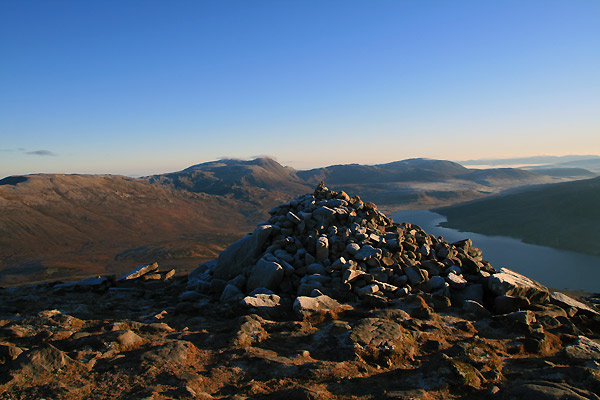 Bjerg i Skotland