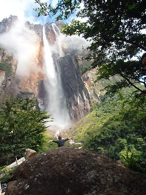 Angel Falls i Venezuela