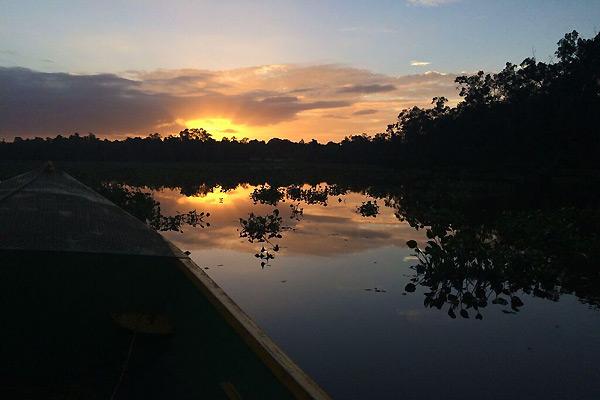 Solnedgang i Venezuela