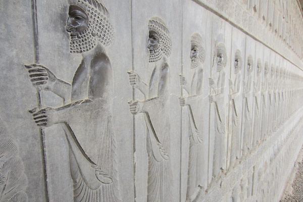 Byen Persepolis i Iran