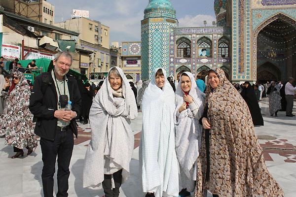 Tørklæder i Iran