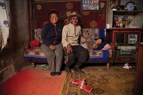 Familie i Mongoliet
