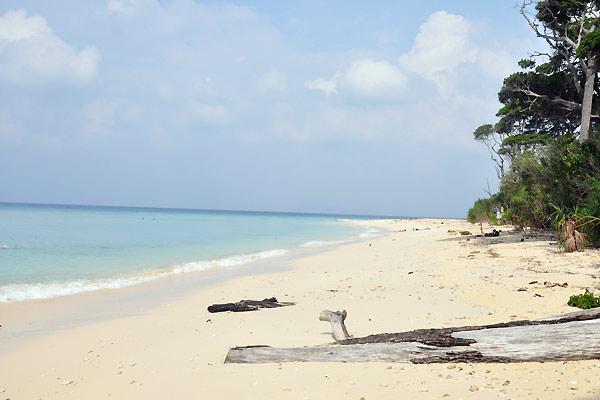 Strand på Andamanerne