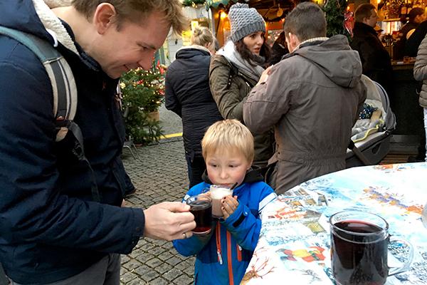 Vi var til julemarked i Friedrichstad og Husum