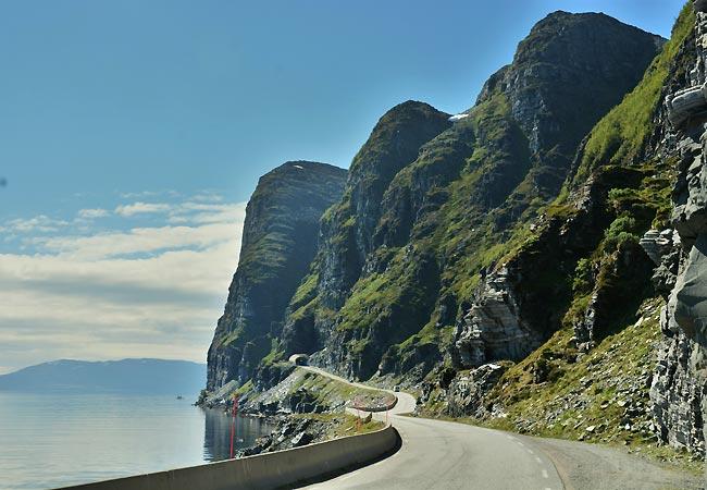 Smuk udsigt i Norge