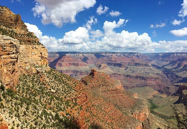 Udsigt over Grand Canyon