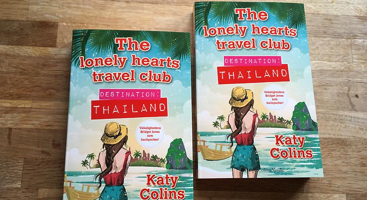 """The lonely hearts travel club – Destination: Thailand"" fra HarperCollins Nordic"