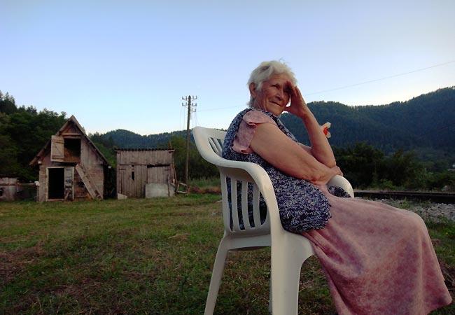 Bosniske bedstemor i Visegrad