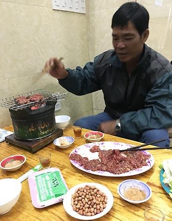 Dao laver mad i Nha Trang