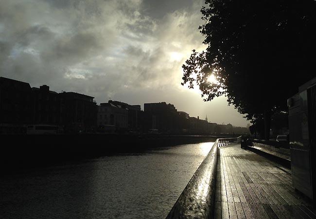 Aftenlys i Dublin