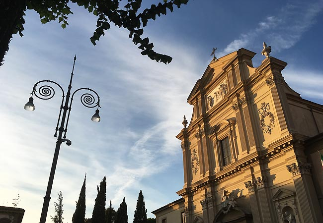 Aften ved San Marco i Firenze