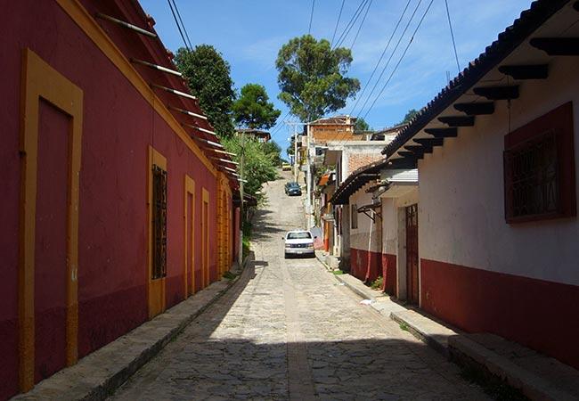 Smukke huse på Yucatán halvøen