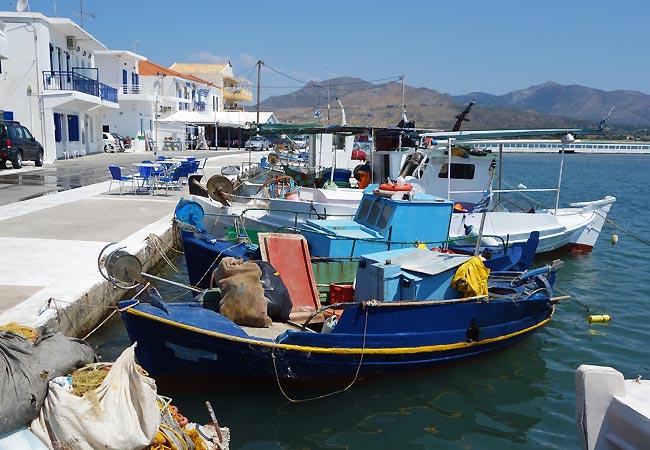 Havnen på Elafonisos