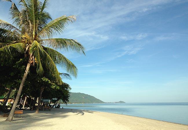 Strand på Koh Phangan
