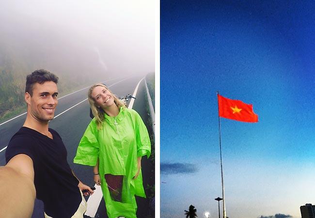 Nichlas Hansen ved Nha Trang i Vietnam