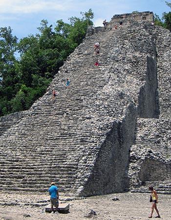 Pyramide på Yucatán halvøen