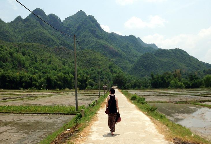 Maria Erica Jensen i Vietnam
