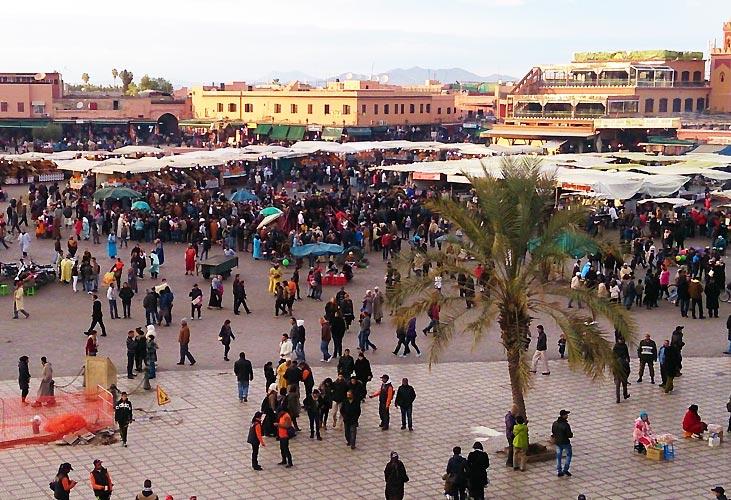 """""""Marrakech: Et kaos af skønhed"""" af Kalle og Christa"""